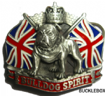 British Bulldog Spirit Belt Buckle display stand Product code AA1